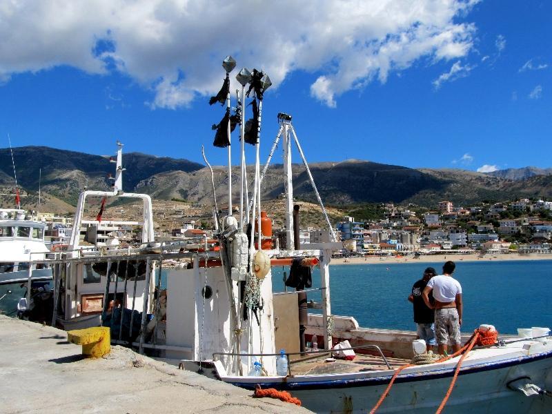 Химара: порт