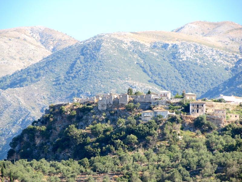 Старая Химара: общий план