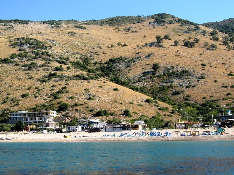 Албания: пляж Яле