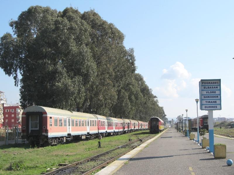 Дуррес: вокзал