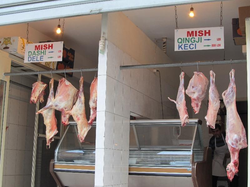 албанская мясная лавка