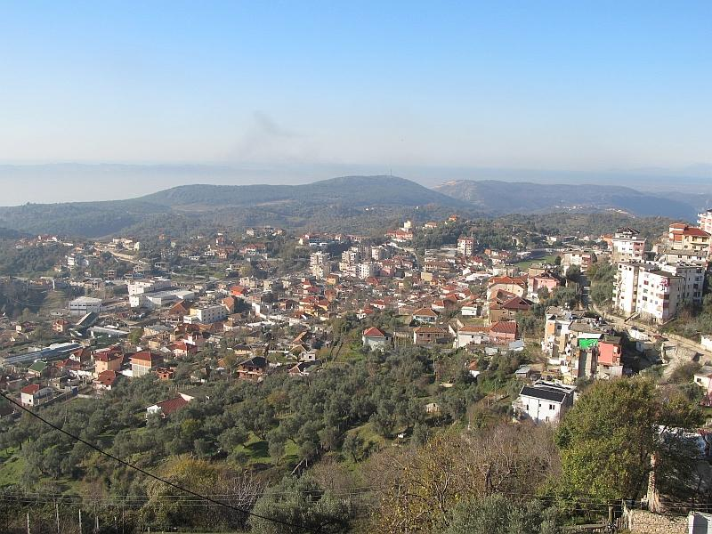 Круя: панорама города