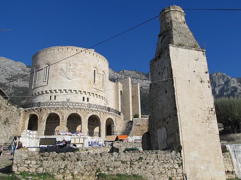 Круя: руины мечети Мехмеда Фатиха