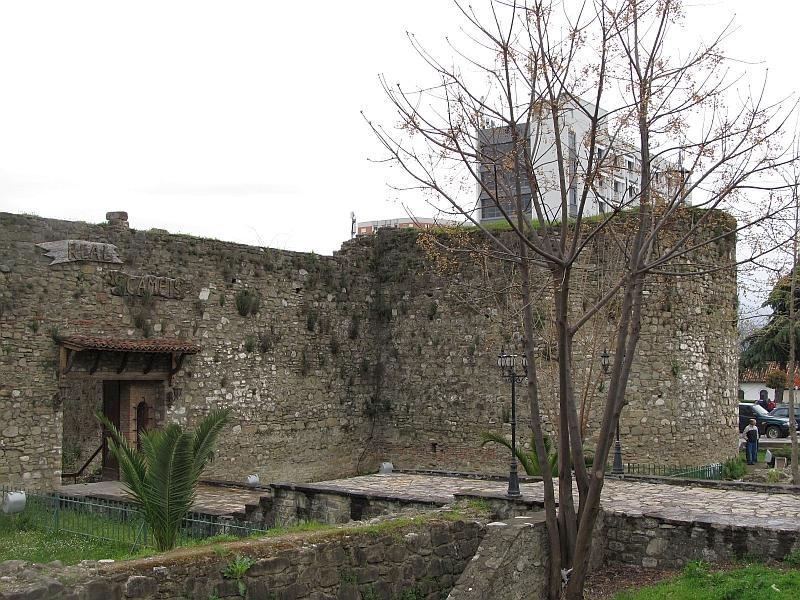 Эльбасан: южный бастион крепости
