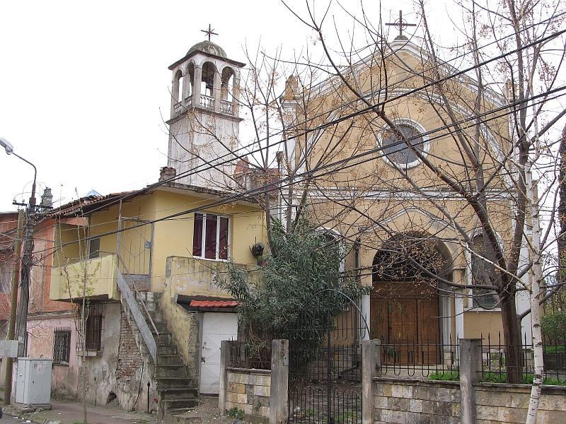 Эльбасан: униатская церковь св.Петра