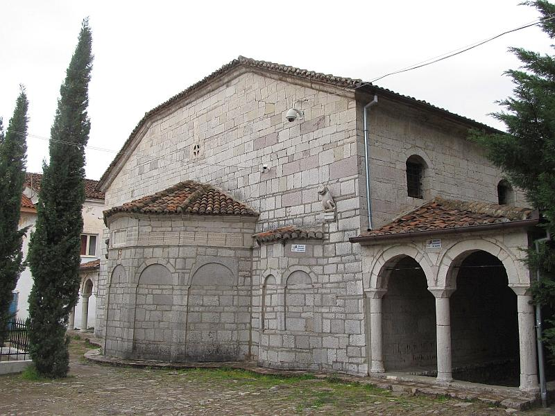 Эльбасан: церковь св.Марии (алтарная часть)