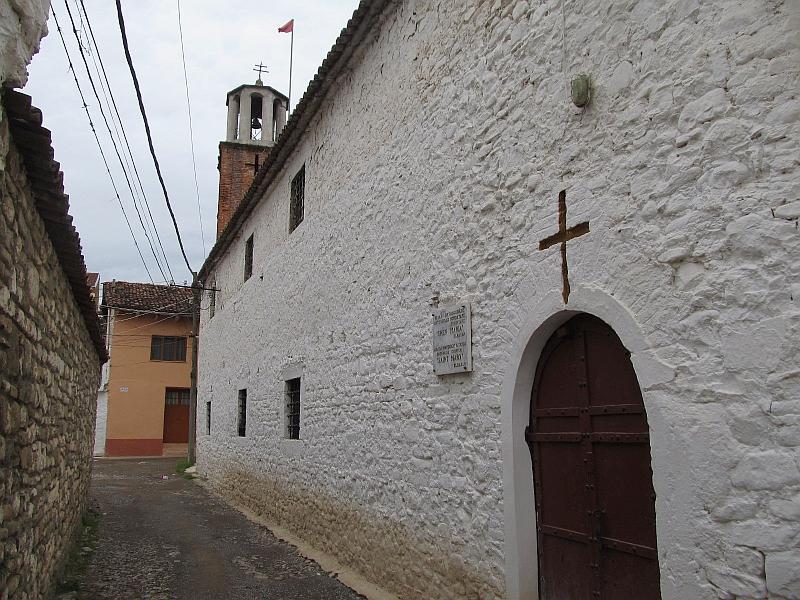 Эльбасан: церковь св.Марии (западная сторона)