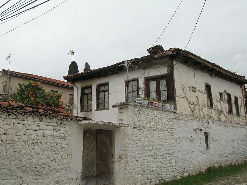 Эльбасан: дома старого города