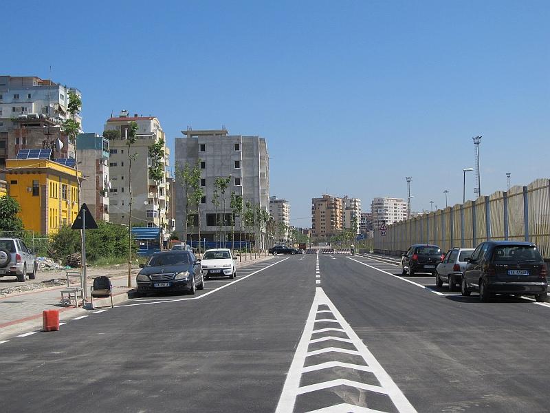 Дуррес: новая разгрузочная улица вдоль порта