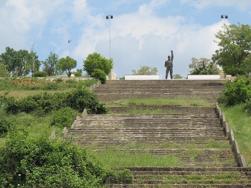 Корча: мемориальный комплекс жертвам фашизма
