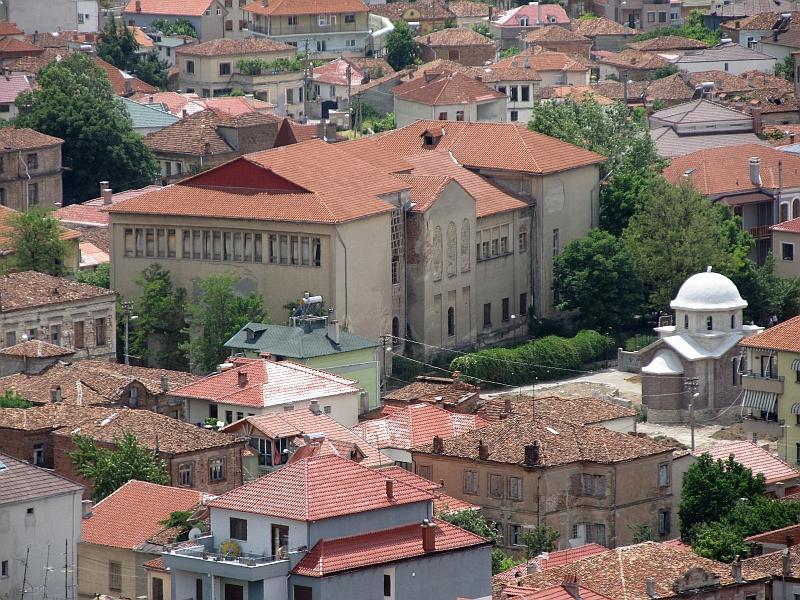 Корча: музей Средневекового искусства (вид сверху)