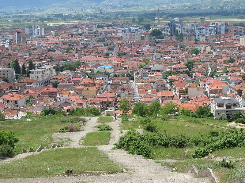 Корча: старый город (вид сверху)