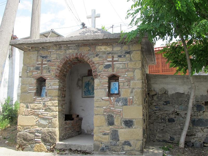 Корча: часовня на ул. Llazo Samara