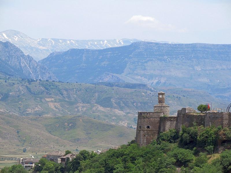 Гирокастра: крепость (восточный бастион)