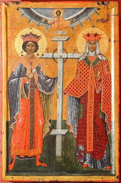 Онуфри: икона Константин и Елена