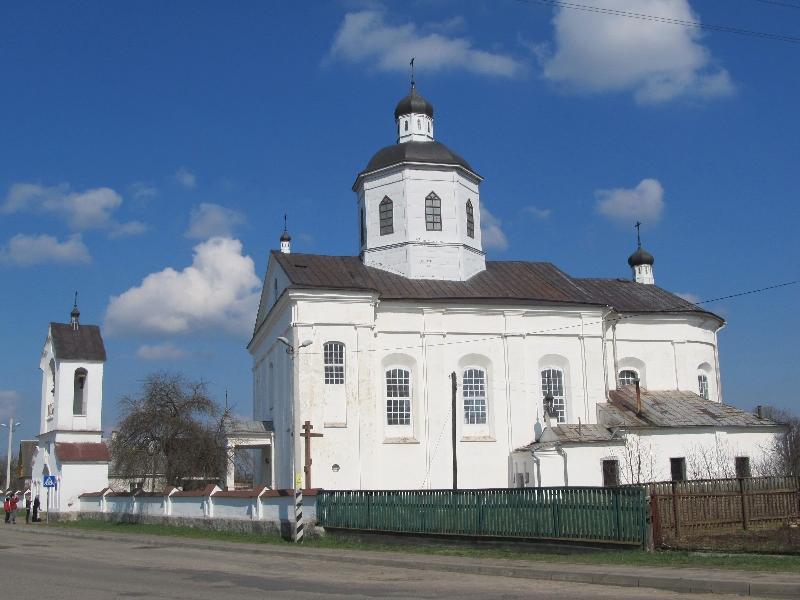 Раков: Спасо-Преображенская церковь