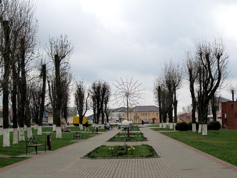 Ивье: Комсомольская площадь