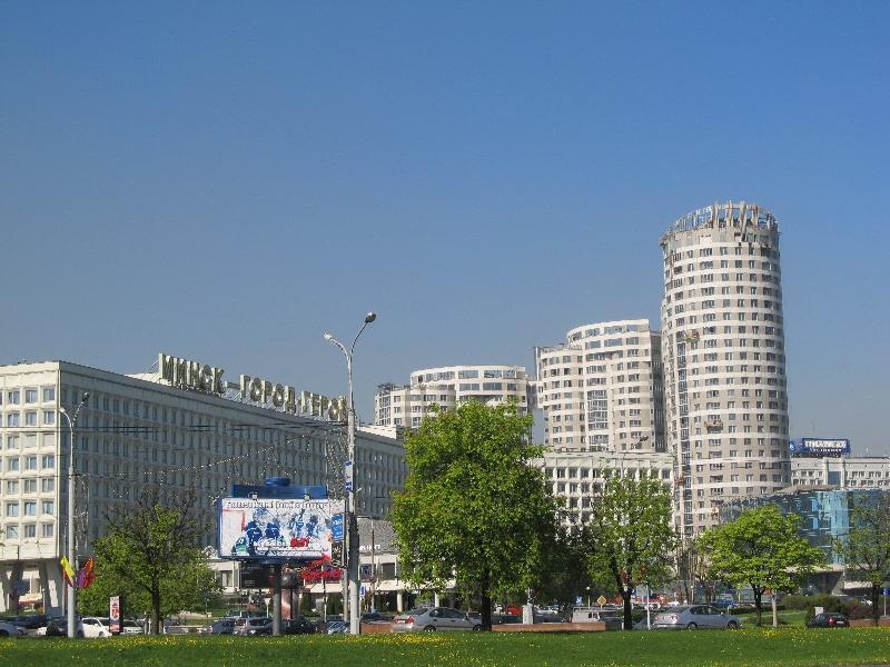 Минск: проспект Победителей