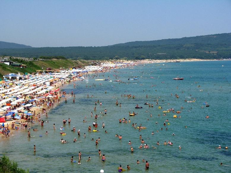 Приморско: северный пляж