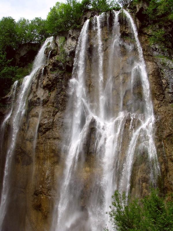 Плитвице: водопад Велики Слап