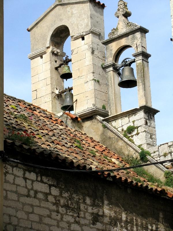 Шибеник: церковь св.Варвары (звонница)