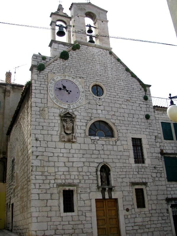 Шибеник: церковь св.Варвары