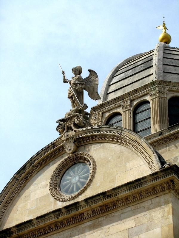Шибеник: собор св.Иакова (купол)