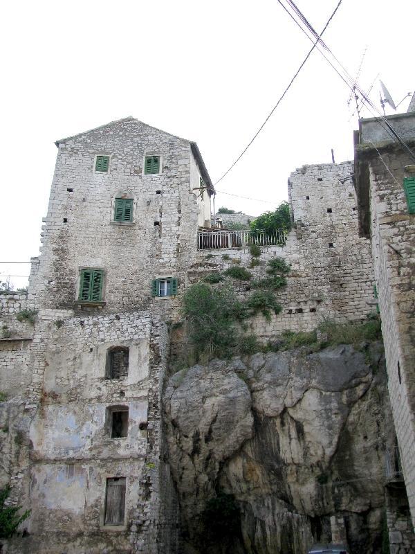 Шибеник: крепостные стены
