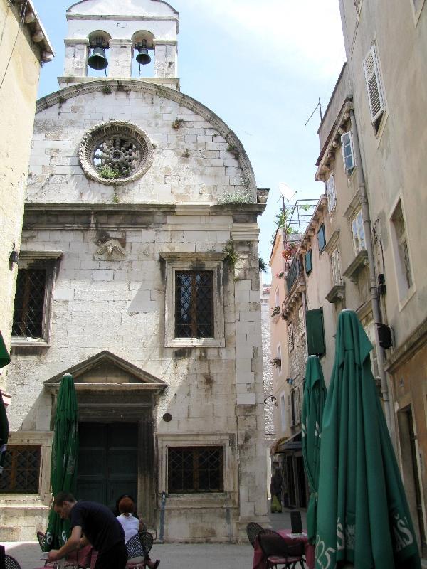 Шибеник: церковь Святого Духа