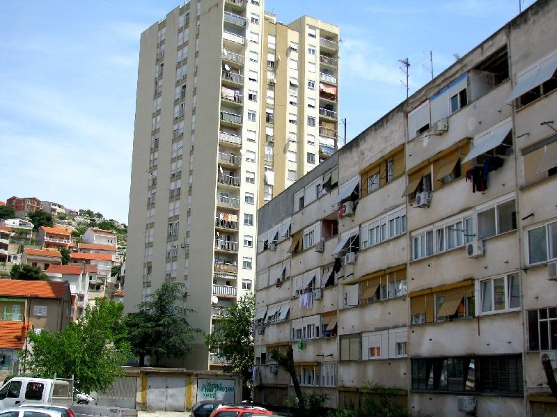 Шибеник: Босанская улица