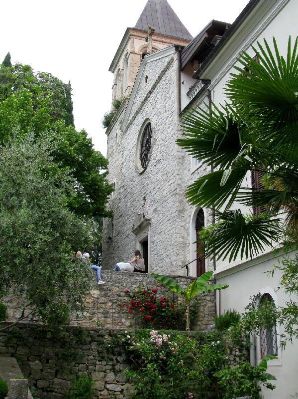 Крка: францисканский монастырь (фасад)