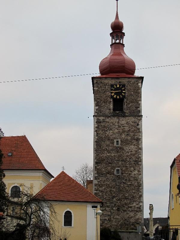 Пшибыслав: часовая башня