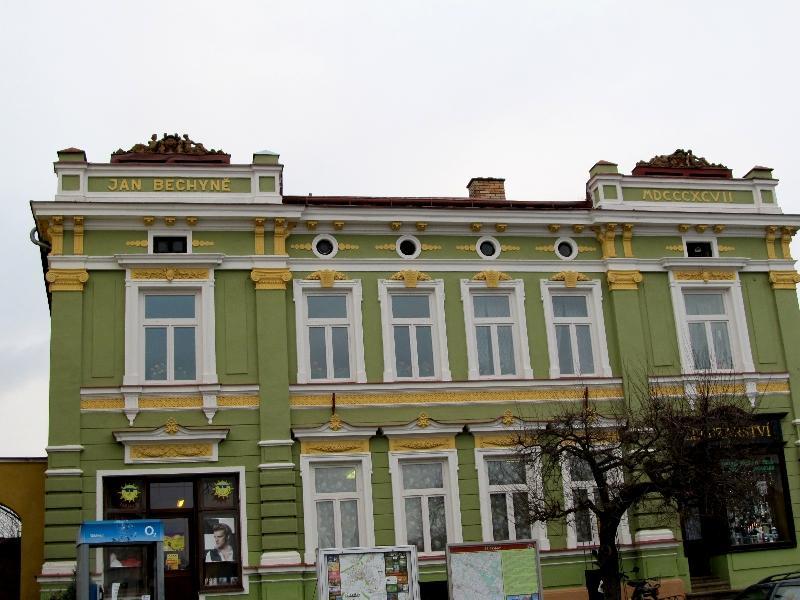 Пшибыслав: дом Яна Бехине