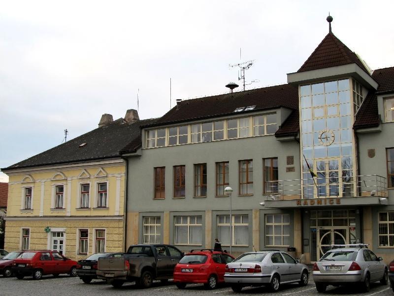 Пшибыслав: ратуша