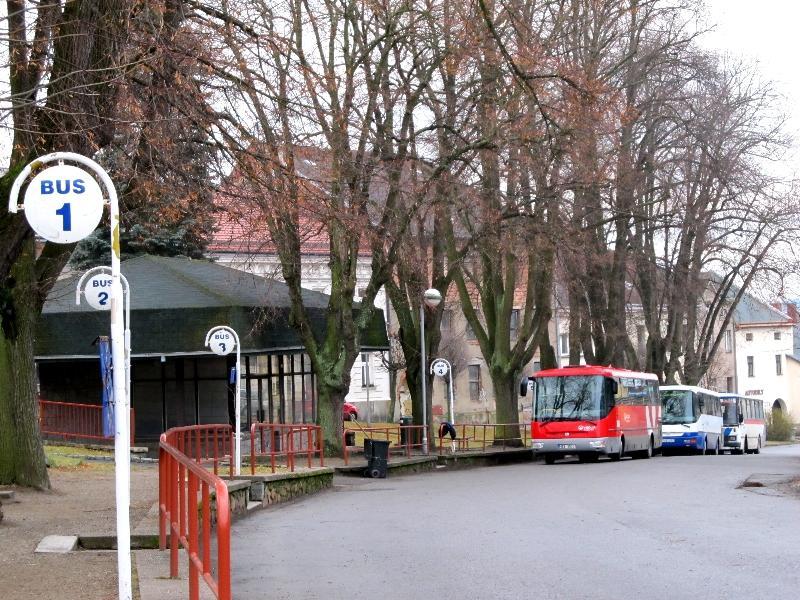 Пшибыслав: автостанция