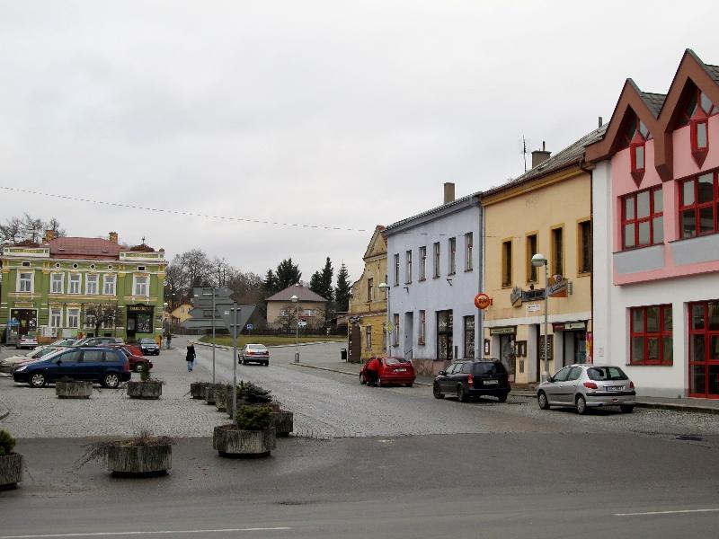 Пшибыслав: Бехиньова площадь