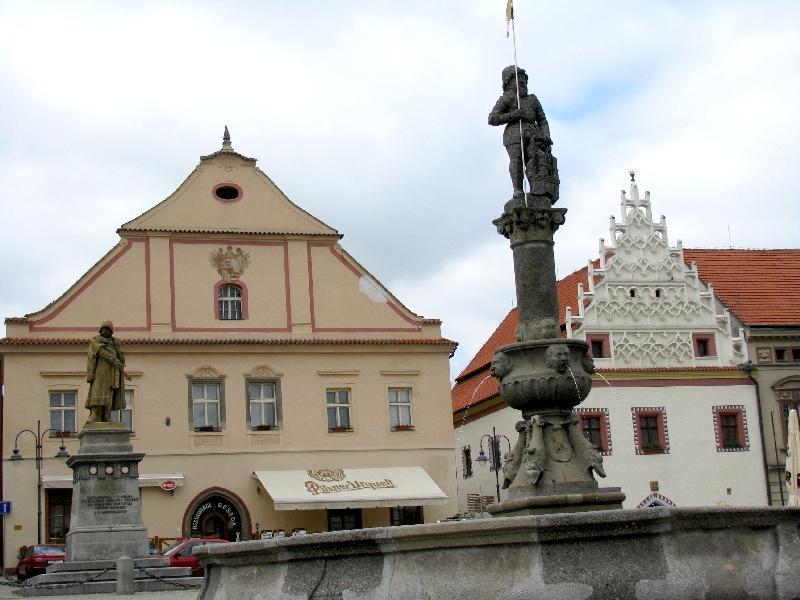 Табор: памятник Жижке