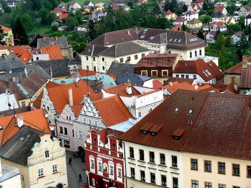 Табор: старый город с высоты