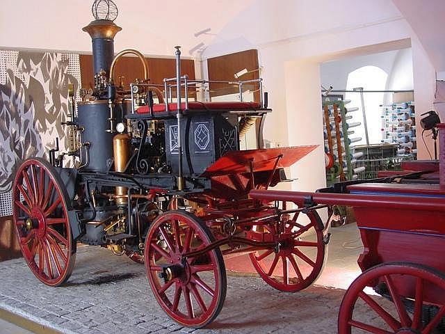 Пшибыслав: музей пожарной техники