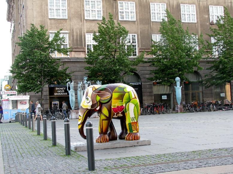 Копенгаген: площадь Аксельторв