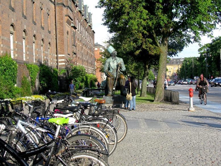 Копенгаген: памятник Г.-Х. Андерсену