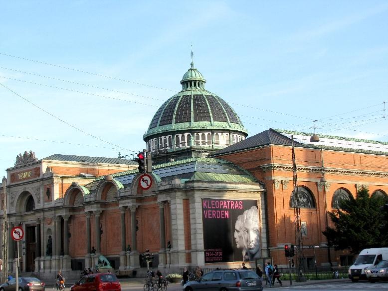 Копенгаген: художественный музей Глиптотека
