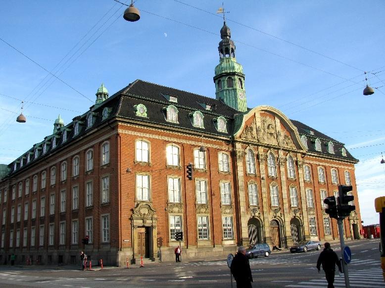 Копенгаген: королевское почтовое управление