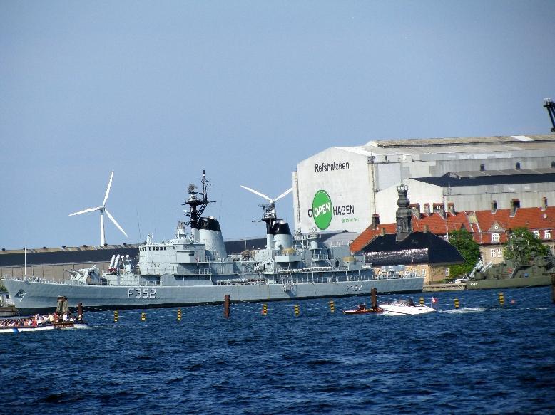 Копенгаген: бухта