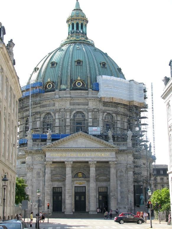 Копенгаген: Мраморная церковь