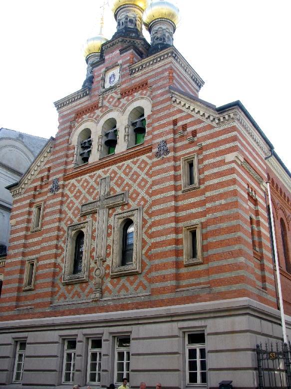 Копенгаген: русская церковь Александра Невского
