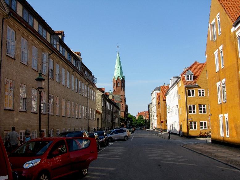 Копенгаген: ул. Ригенсгаде