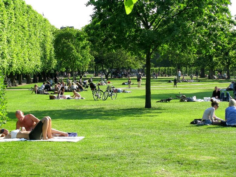 Копенгаген: парк Розенборг