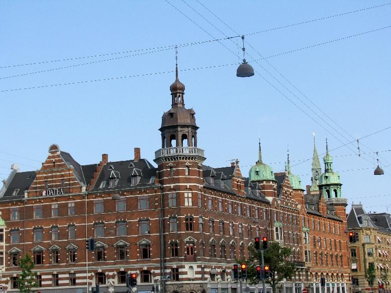 Копенгаген: гостиница Индийский дворец