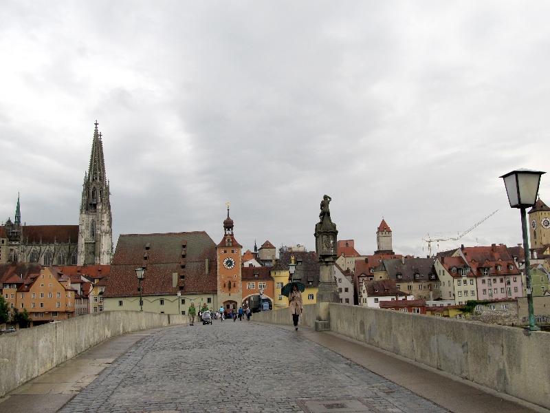 Регенсбург: древний мост